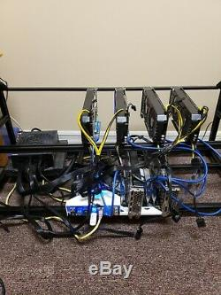 14 GPU Ethereum Mining Rig-309 MH/s + 19 other Altcoins