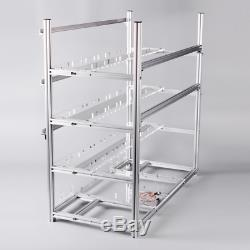 19 Gpu Open Air Stackable Mining Rig Frame Miner Case For Etc Bth With 18 Coolin