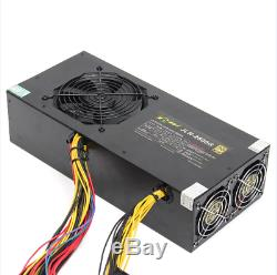 2800W PSU Mining Power Supply For 6GPU Eth Rig Coin Miner Machine Antminer S7 S9