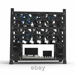 3 Layers 12 GPU Mining Rig Frame Open Air Computer Case Ethereum ETH BTC Miners