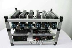 320 MHs Ethereum 516 H/s Zhash 228 Beam 174 X16R Crypto Coin Currency Mining Rig