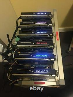 4x Slot GPU Crypto Currency Mining Rig without GPU's, FREE Install Support