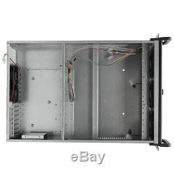 5 Fans Mining Frame Rig Graphics Case Open Air Frame ETH/ZEC/Bitcoin For 6 GPU