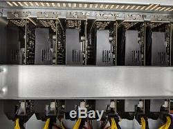6 GPU P106-090 6GB Crypto Currency Mining Rig Zcash Ethereum Bitcoin and more