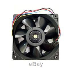 6 GPU Rackmount Mining Rig Case including 6 x 6000 rpm Industrial Case Fans