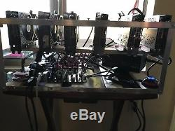 6x GPU Ethereum/Zcash Mining Rig VERY STABLE