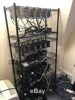 8 X 6 GPU MINING RIG (£3500 For Only 4)