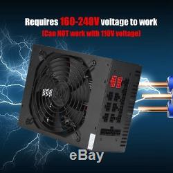 95% 1800W Modular Power Supply For 6 GPU Eth Rig Ethereum Coin Mining Miner CO