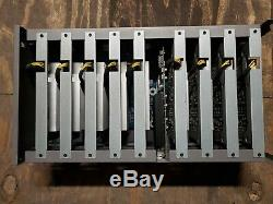9X P106-090 GPU MINING RIG SMALL SIZE ETHEREUM MINER COMPLETE With PSU