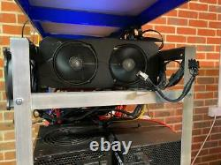 AMD 5700XT Crypto GPU Mining Rig BItcoin/Ethereum/ect OVER £750 P/M, Send Offers