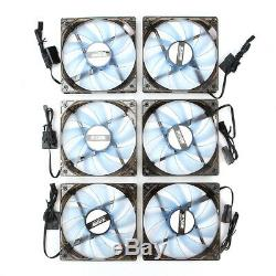 Aluminum Open Air Mining Rig Frame Case With Fans For 8-GPU ETH Ethereum