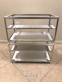 Aluminum Stackable Crypto Coin Open Air Mining Frame Rig Case 6/7/8 GPU
