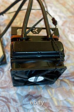 Amd Radeon R9 295 X2 Gpu Monster Double Speed + Noctua Fan + Cables Mining Rig