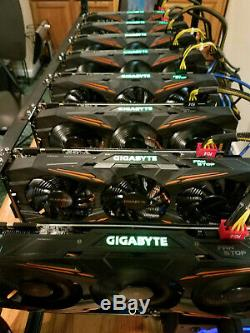 Bitcoin Mining Rig 1 Gpu, Alt Coins, Pro Crypto Currency Miner Bit Punisher