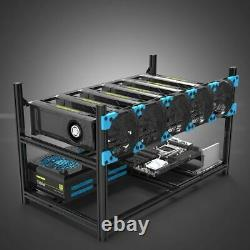Bitcoin Mining Rig Starter Setup Frame (& Altcoin crypto currency)