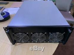 Complete 8GPU Mining Rig (Ready to plug in and mine) 1 x Nvidia 1060 included