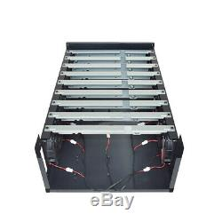Crypto Coin Open Air Miner Mining Frame Rig Graphics Case For 9 GPU ETH BTC