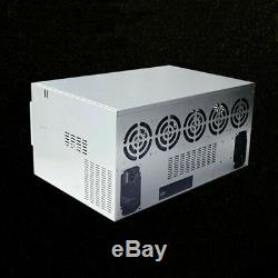 Crypto Currency Mining Case/Chassis/Rig for 12 GPU, Magnalium Alloy, DIY