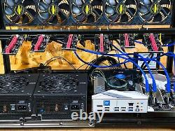 Crypto Mining Rig (6 GPUs, All-New-Components) -NO Graphic Cards Included