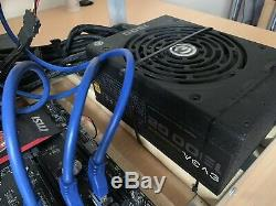 Crypto Mining Rig (Ethereum, all minable coins) 5 X RX470
