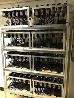 Crypto Mining Rig (Ethereum & all minable coins) 6 X RTX 2070 / 210MH/S