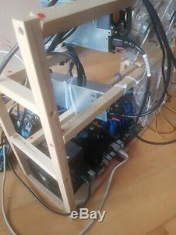 Cryptocurrency Mining Rig, 11 x GPU (not included)