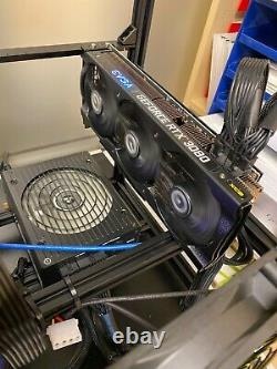 Cryptocurrency Mining Rig (Ethereum/All Minable Coins) 5 x RTX 3080s 500 MH/s