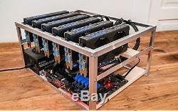 Ethereum 175 MH MINING RIG RENTAL FOR 30 Days GPU MINING (ETH, ETC and Other)