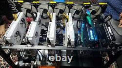 Ethereum Crypto Mining Rig 376-450 MH/s. PLUG and PLAY, NVIDIA RTX SEE DESC