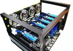 Ethereum GPU miner/mining rig UP to 600 MH/s-it comes without graphics cards