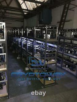 Ethereum Mining Rig 360MH/S 12 Months Warranty + Installation and Support MARCH