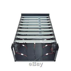 For 9 GPU ETH BTC Crypto Bitcoin Open Air Miner Mining Frame Rig Graphics Case