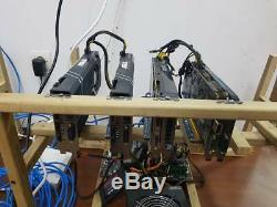 Fully Loaded 3 Card 1070 ti 970 Mining Rig for Crypto Coins