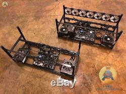 GPU mining rig BASE FRAME just add GPUs to get started. PSUs included
