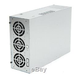 Mining Frame Case Mining Frame Rig Graphics Case For 6/8GPU with 5 Fans Air