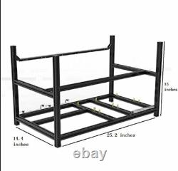 Mining Rig VEDDHA 6 GPU Miner Case Aluminum Stackable Mining Frame in USA