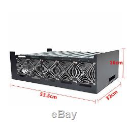 NEW DIY Steel Mining Frame For 9 GPU Mining Crypto-Currency Mining Rigs