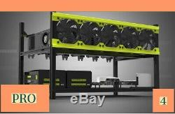 PPC Pro 4 Mining Rig For Cryptocurrency