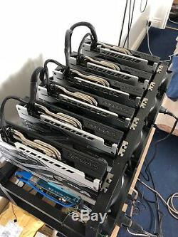 Sapphire Nitro x6 Card Ethereum Mining Rig 170Mh/s