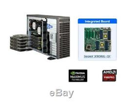 Supermicro 4-way GPU Workstation 7047GR-TRF, rackmount, customizable, mining rig